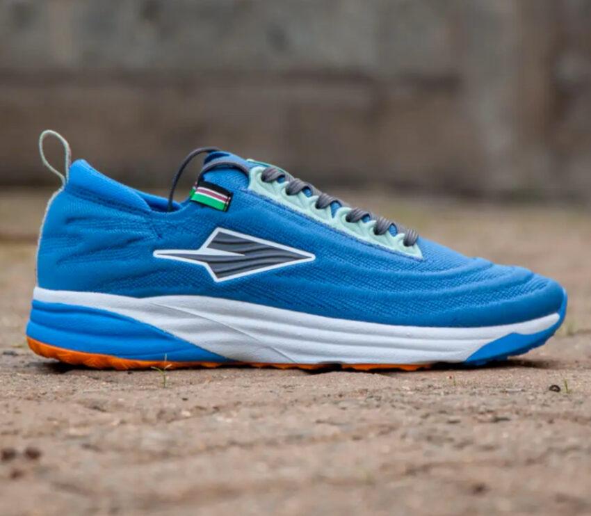 scarpe da running made in kenya enda lapatet da uomo blu