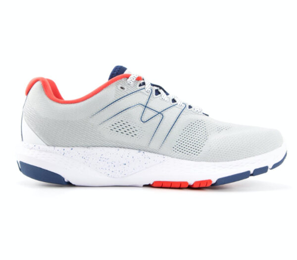 scarpa da running karhu ikoni ortix uomo blu grigia e rossa