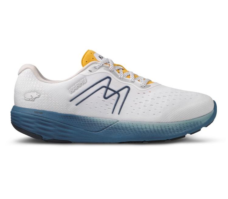 scarpa da running karhu ikoni ortix uomo gialla e blu
