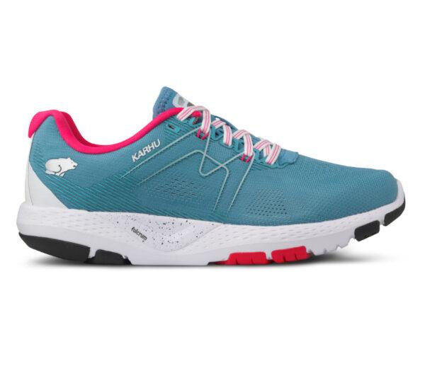 scarpa da running karhu ikoni ortix donna azzurra e rosa