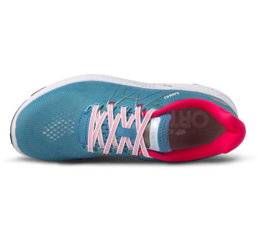 tomaia scarpa da running karhu ikoni ortix donna azzurra e rosa