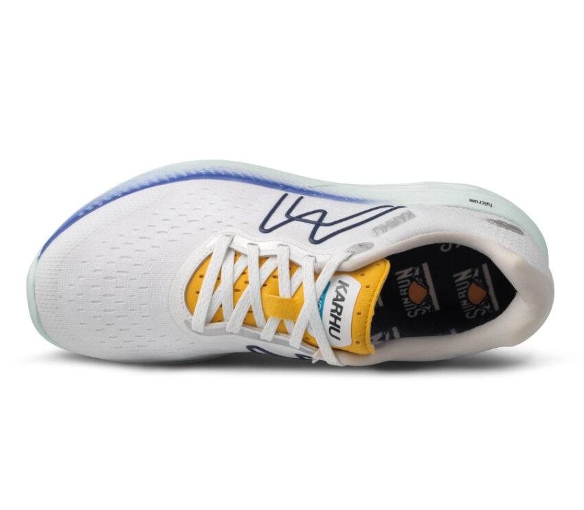 tomaia scarpa da running karhu ikoni ortix donna bianca e blu