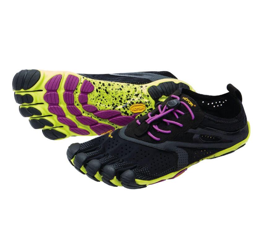 scarpa da running barefoot da donna vibram vrun nera