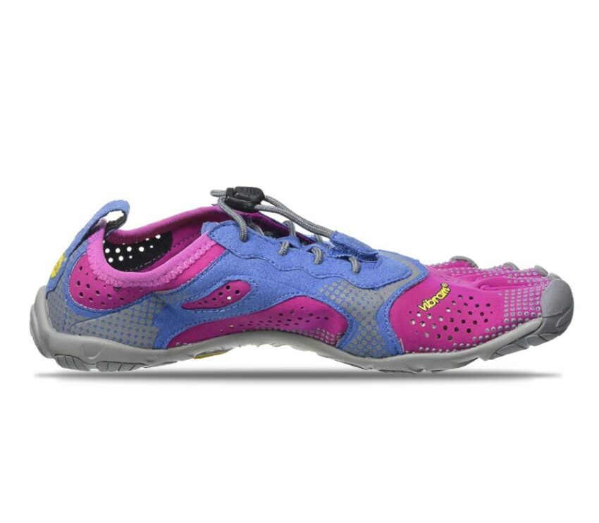 scarpa da running barefoot da donna vibram vrun viola