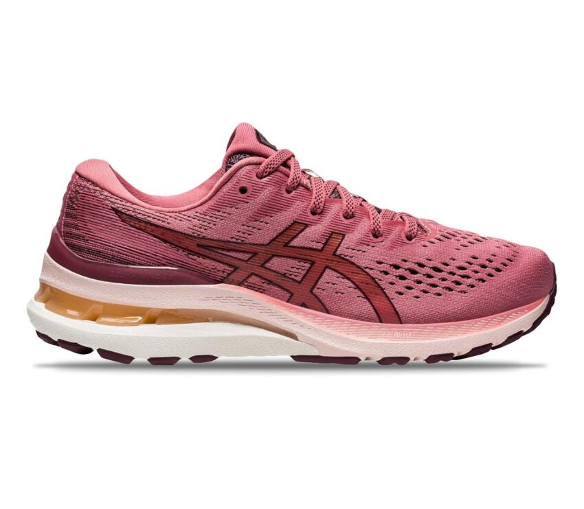 scarpa da running donna per pronatori asics gel kayano 28 rosa