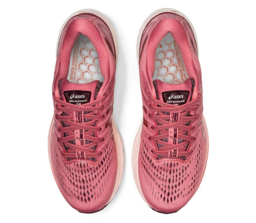 tomaia coppia scarpe da running donna asics gel kayano 28 rosa