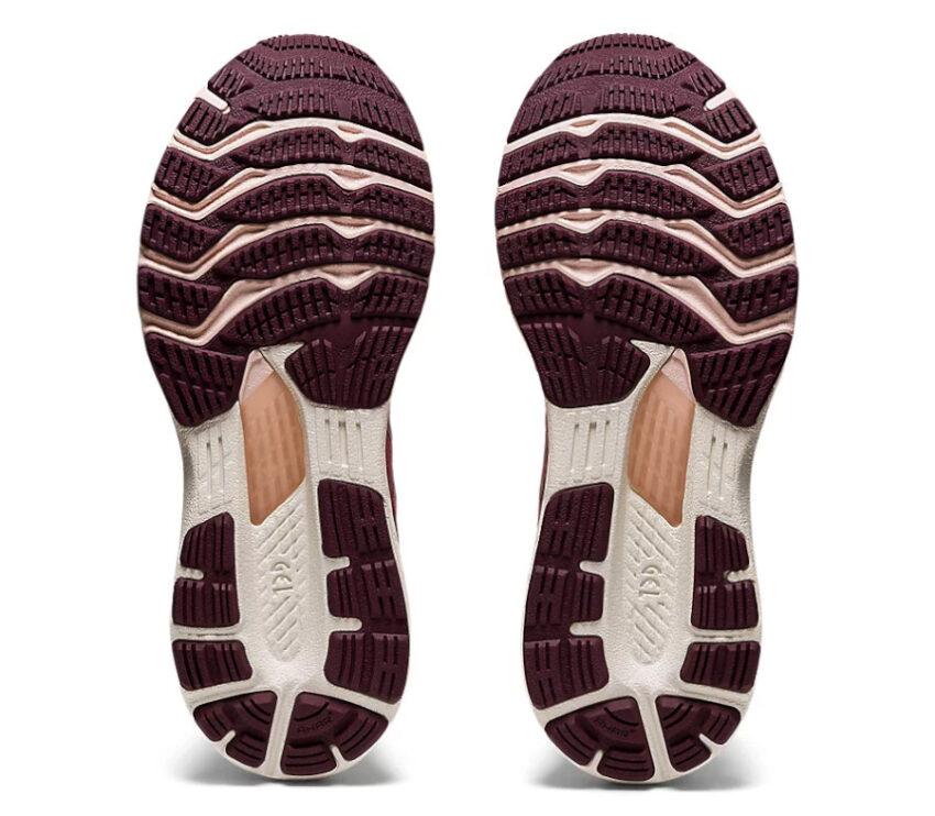 suola coppia scarpe da running donna asics gel kayano 28 rosa