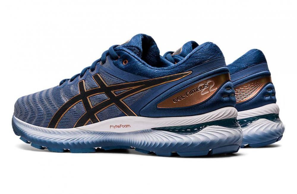 scarpe da corsa asics gel nimbus blu
