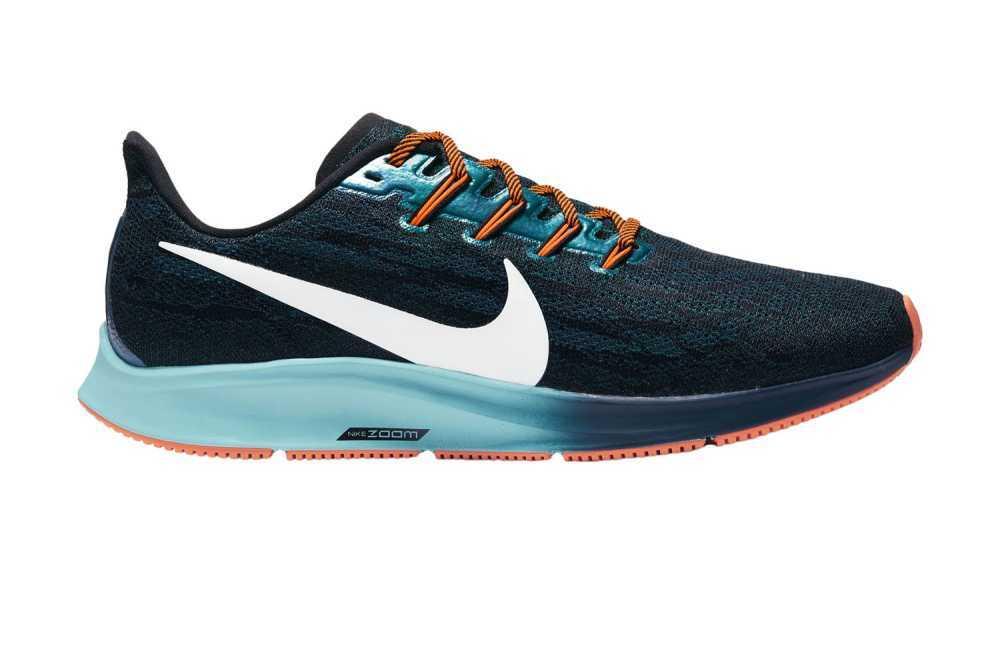 scarpa running nike pegasusu 36 ekiden pack colore blu
