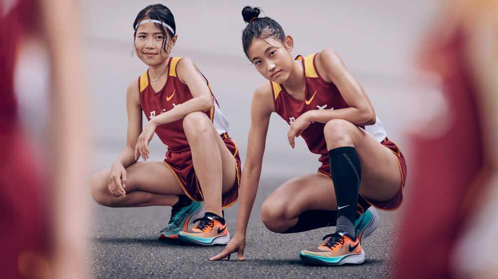 2 ragazze runner giapponesi