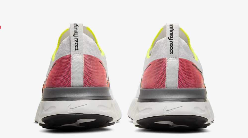 retro scarpa running react infinity run