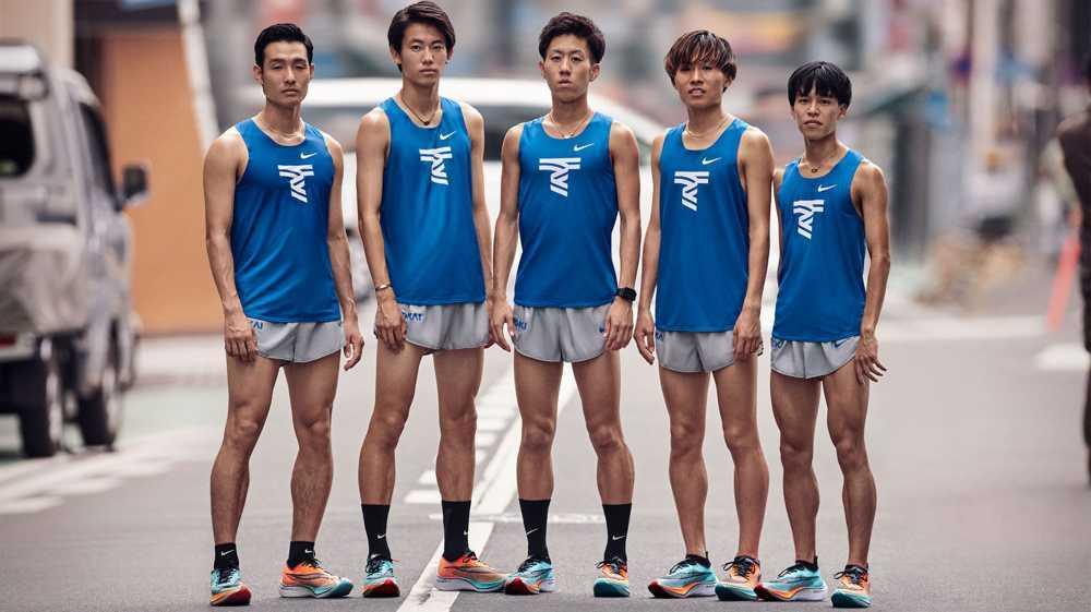 5 ragazzi runner giapponesi