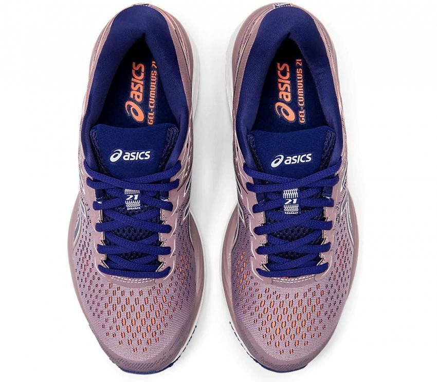 coppia asics gel cumulus 21 scarpe running donna