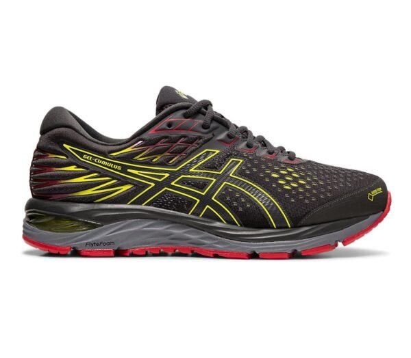 asics gel nimbus 21 gtx scarpa da running uomo colore grigio scuro