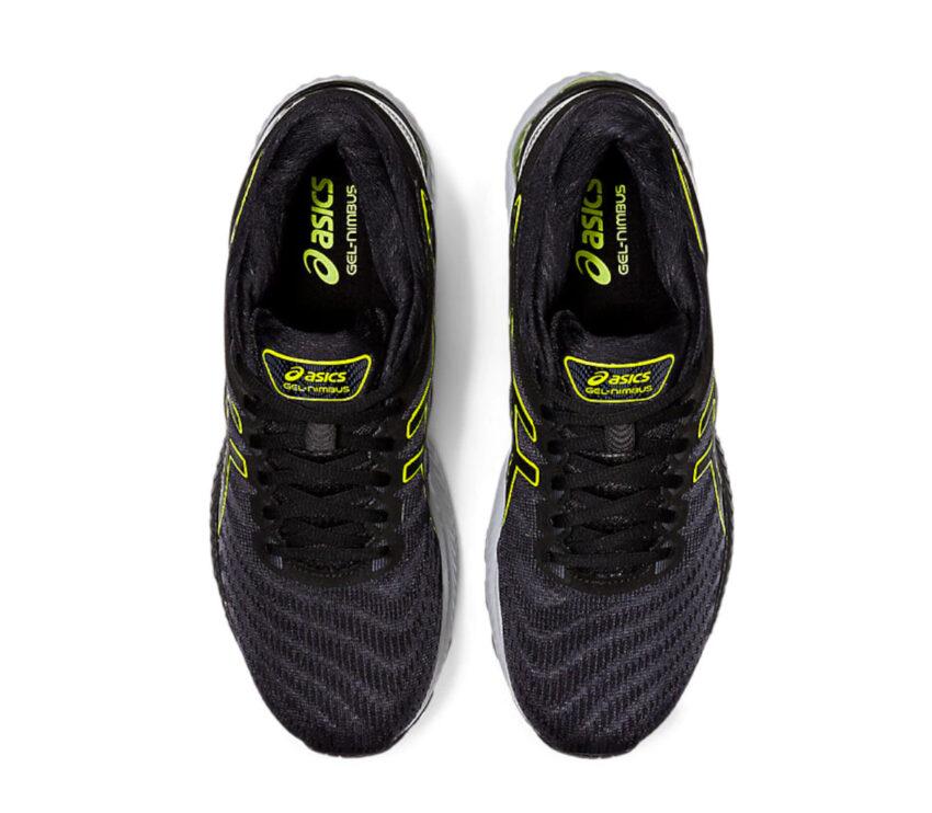 scarpe per running uomo asics gel nimbus 22 viste dall'alto