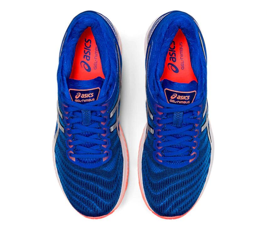 scarpe running uomo asics gel nimbus 22 viste da sopra