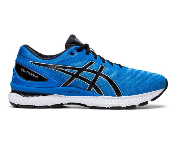 asics gel nimbus 22 blu scarpa running uomo