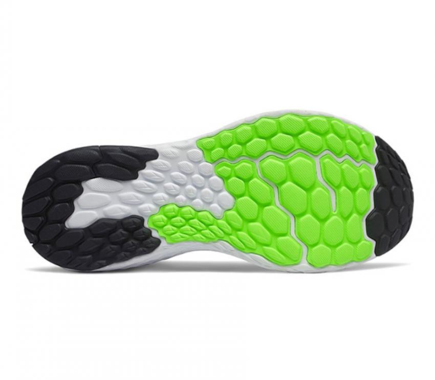 suola new balance 1080v10 bianca e verde