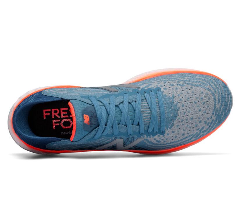 tomaia scarpa running uomo new balance 1080v10 blu