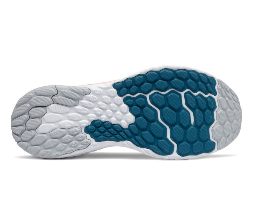 suola scarpa running uomo new balance 1080v10 blu