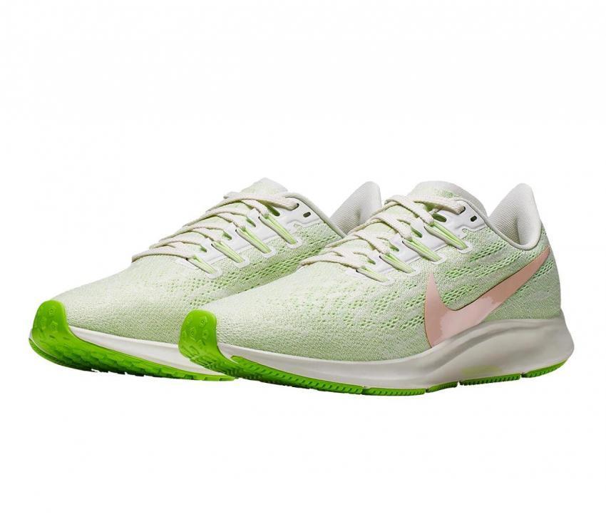 scarpa da running donna nike zoom pegasus 36 verdi