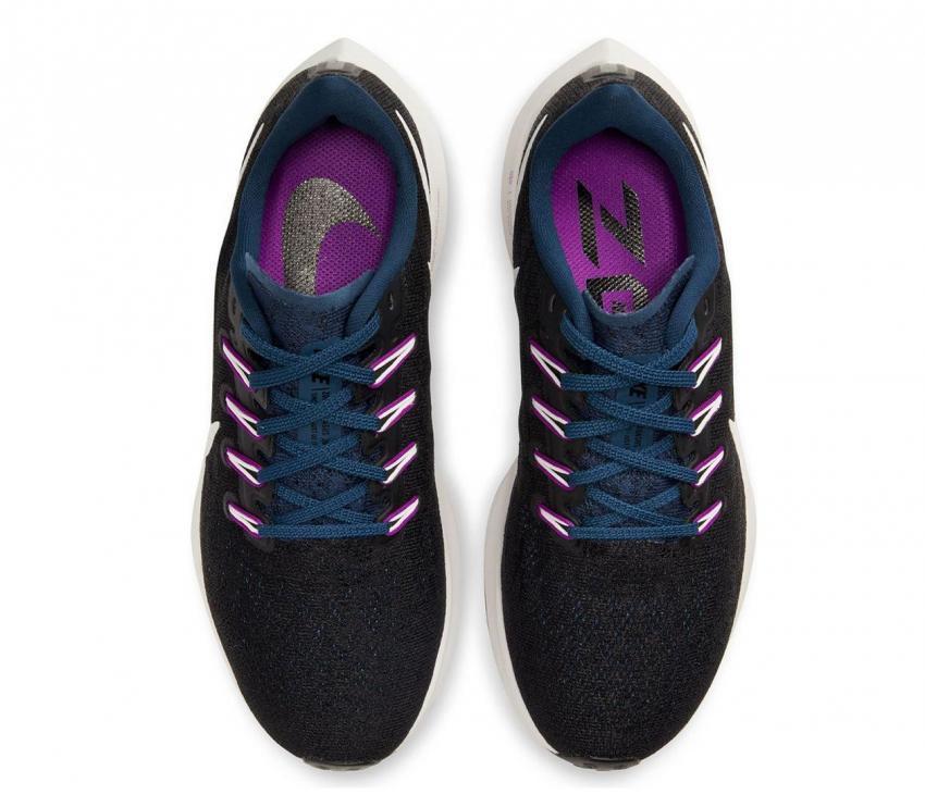 air zoom pegasus 36 donna scarpa running nere e viola