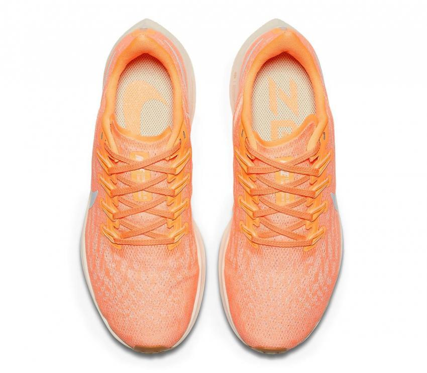 air zoom pegasus 36 donna scarpa running rosa 800 vista sopra