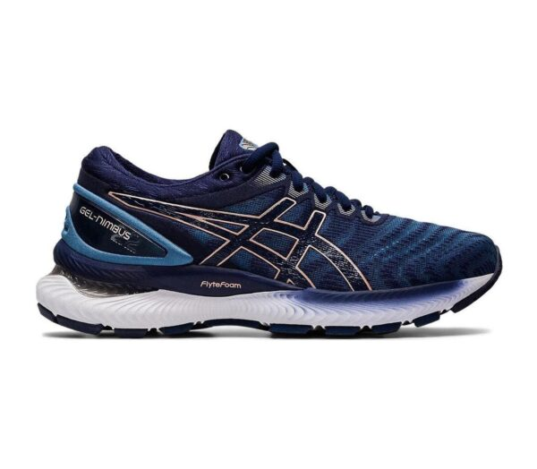 asics gel nimbus 22 donna colore blu scuro