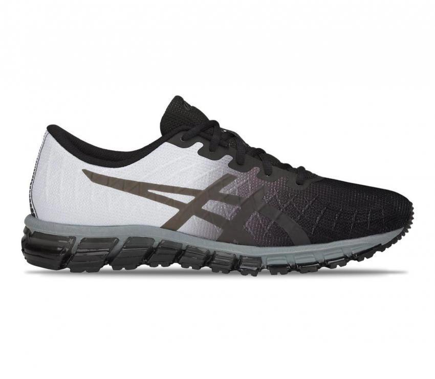asics gel quantum 180 4 running uomo colore grigio chiaro e scuro