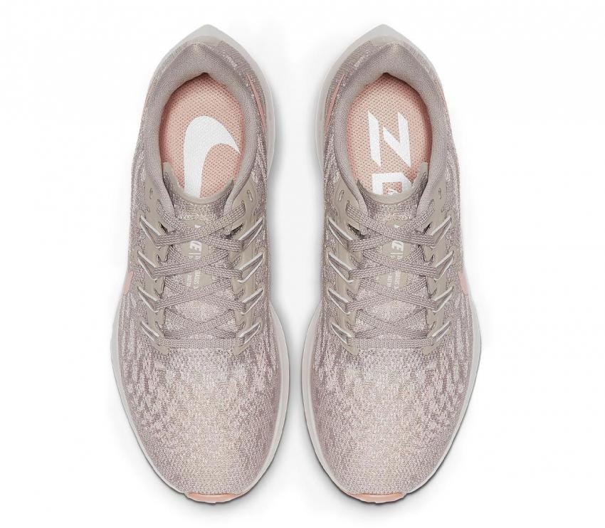 nike pegasus 36 200 donna scarpa running vista sopra