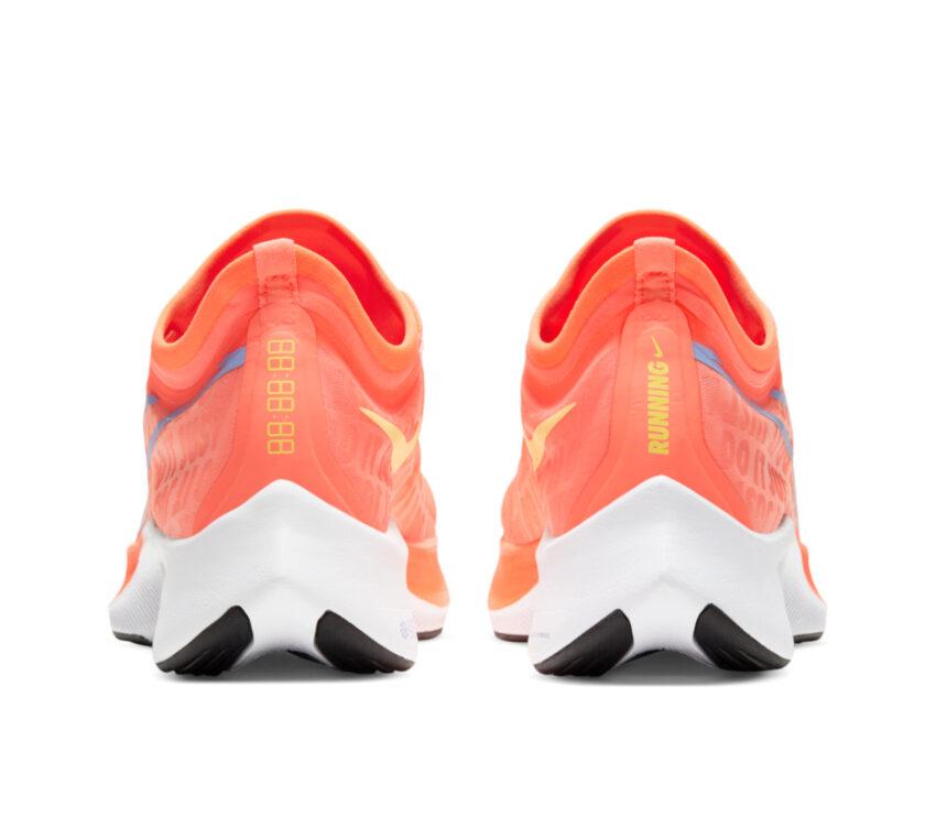 tallone scarpa da running donna nike zoom fly 3 rosa mango