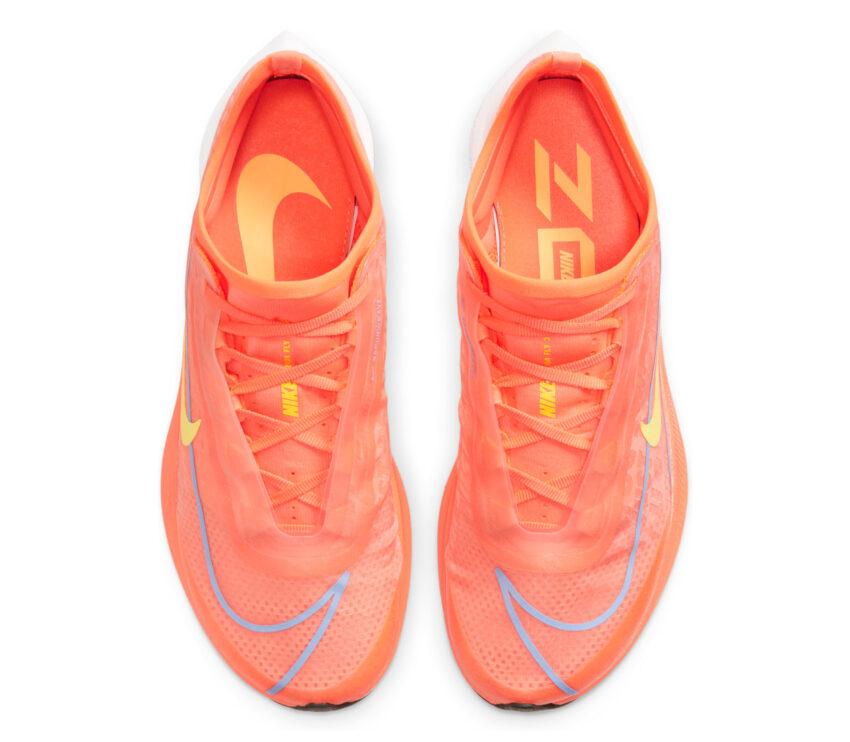 tomaia scarpa da running donna nike zoom fly 3 rosa mango