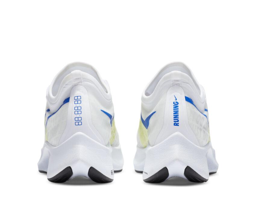 retro scarpe da running nike zoom fly 3 donna bianche e fluo
