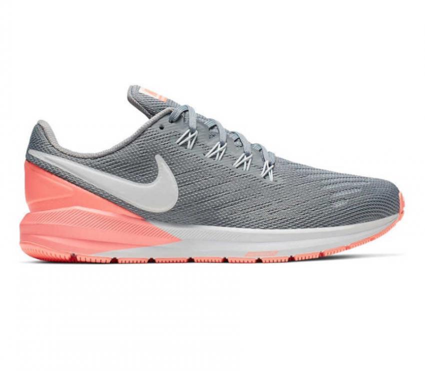 scarpa da running donna nike zoom structure 22 grigia 005