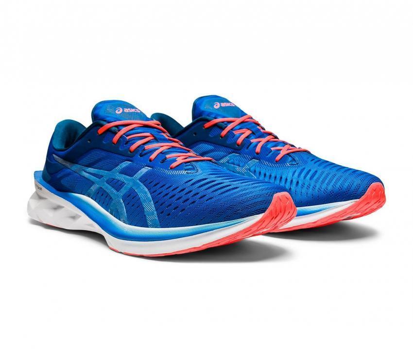 coppia asics novablast scarpe running uomo