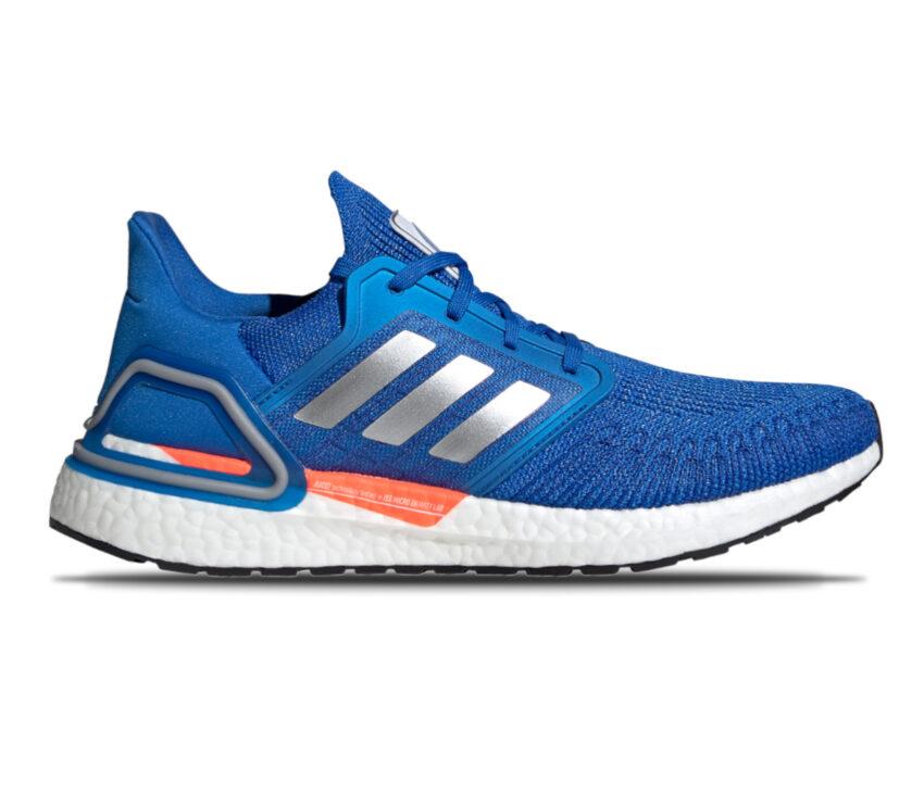 scarpa da running adidas ultraboost 20 blu NASA uomo
