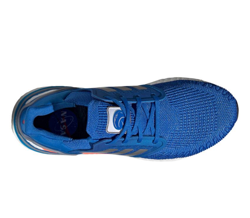 tomaia scarpa da running adidas ultraboost 20 blu NASA uomo
