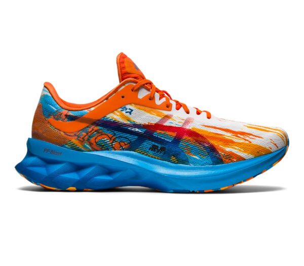 scarpa running uomo colorata asics novablast
