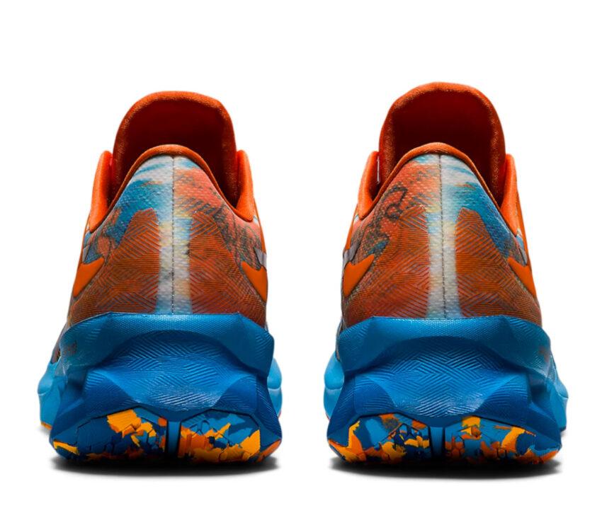 retro scarpe running uomo colorate asics novablast