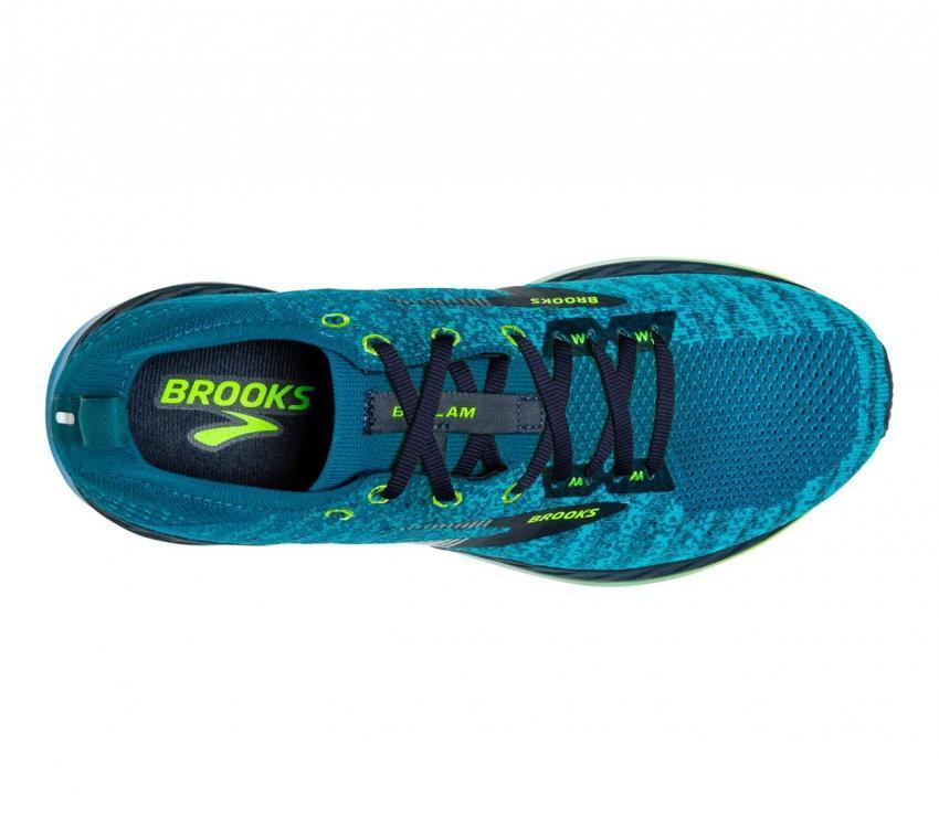 brooks bedlam 2 scarpa running uomo vista dall'alto