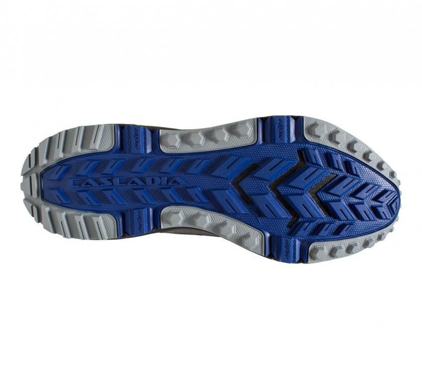 suola brooks cascadia 13 scarpa trail running da uomo