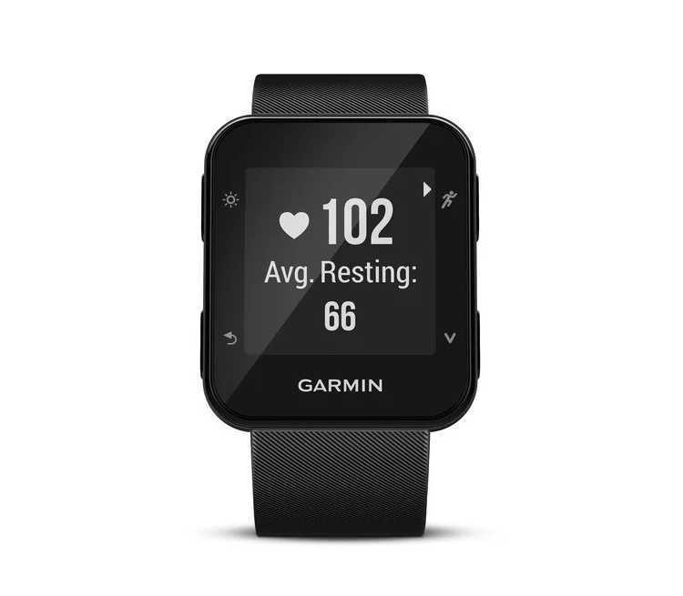 orologio cardiofrequenzimetro running garmin forerunner 35 nero