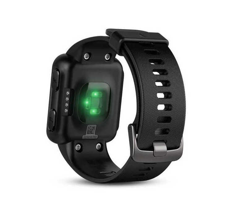 sensore cardio orologio cardiofrequenzimetro running garmin forerunner 35 nero