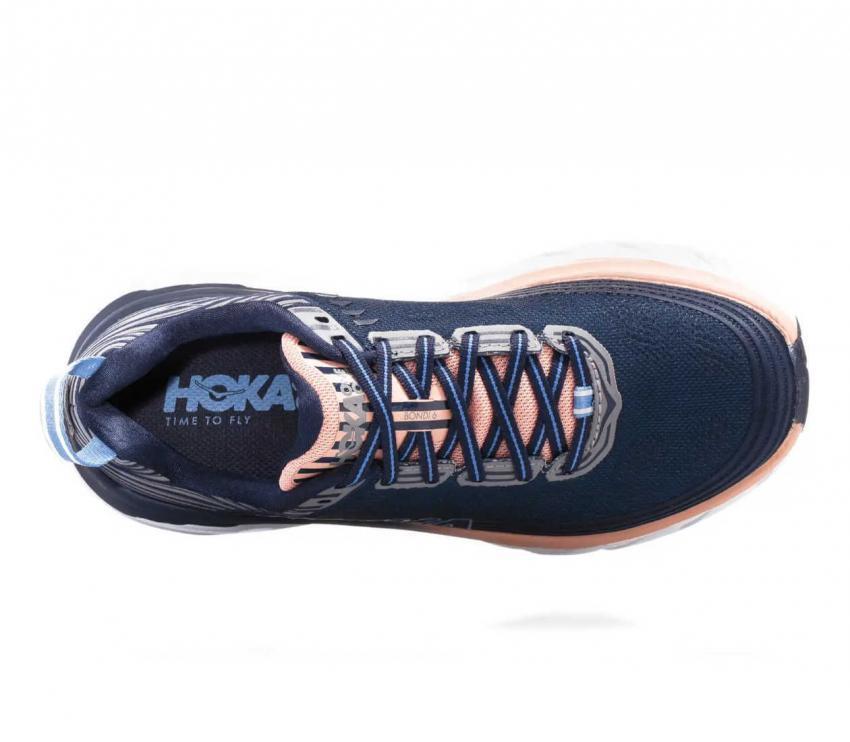 sopra hoka one one bondi 6 scarpa running donna midp