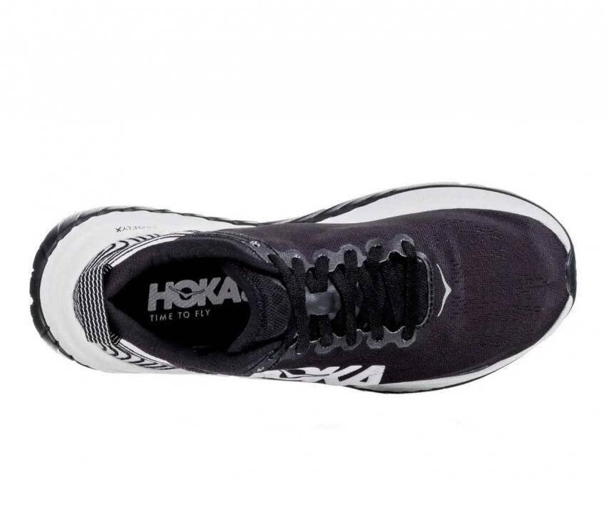 scarpe running uomo hoka one one carbon x nere viste da sopra