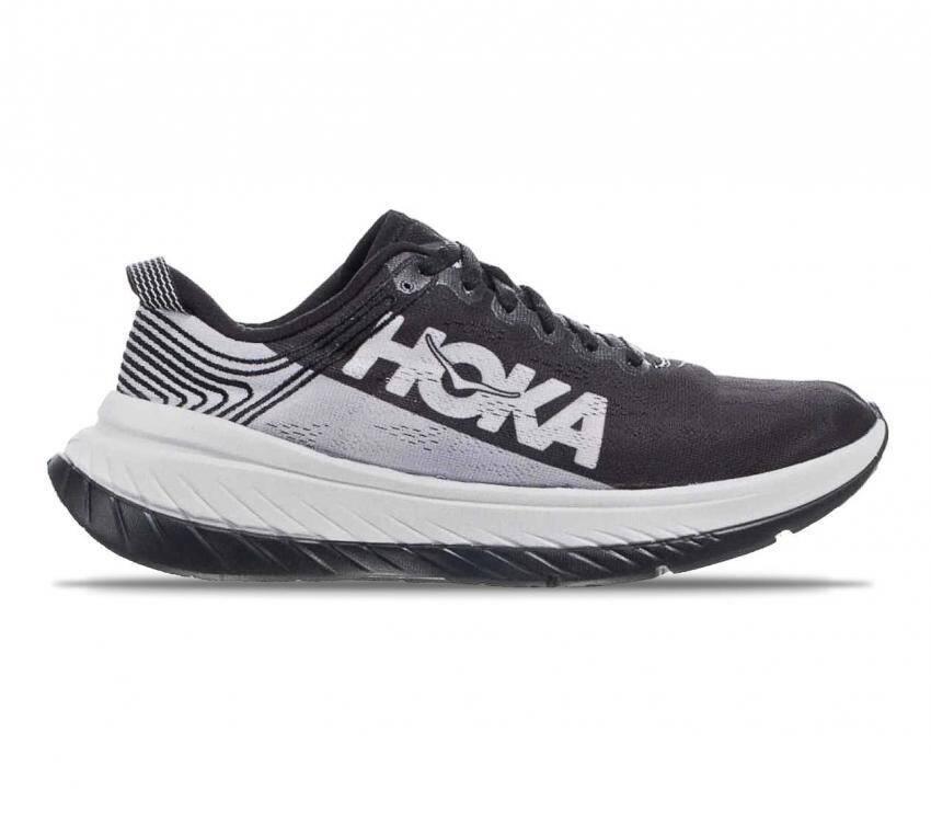 scarpe running uomo hoka one one carbon x nere