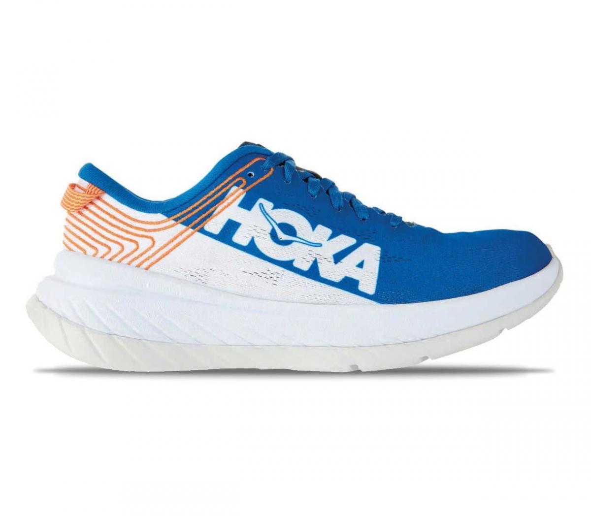 hoka one one carbon x ibwt scarpa running uomo