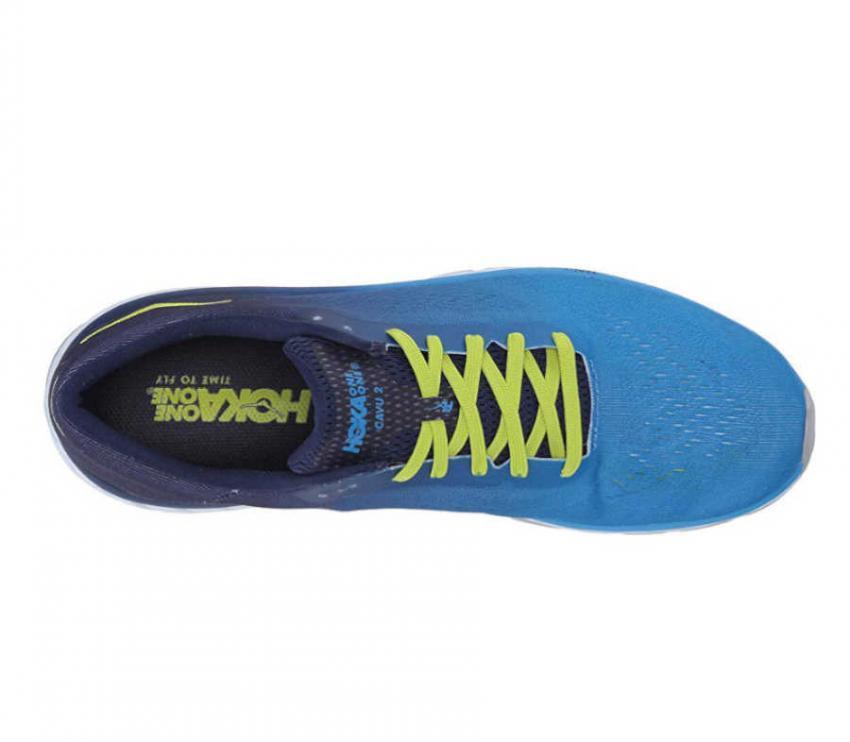 scarpa running uomo hoka one one cavu 2 vista dall'alto