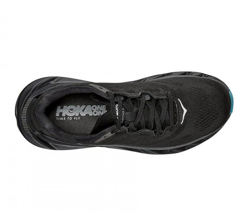 scarpe running per donna poke one one elevon 2 nera vista da sopra