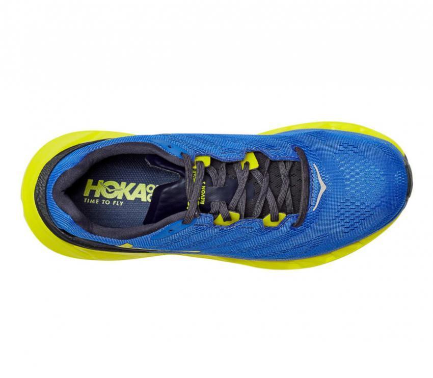 scarpa running uomo Hoka one one elevon 2 vista da sopra